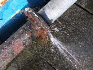 Pipe Water Leakage